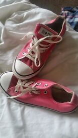 Converse size 2 wedges size 5 and others