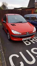 Peugeot 206 - Red - 1.4