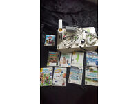 Nintendo Wii wth Wii fit board and many more