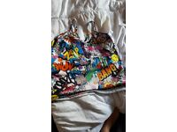 Funky size 12 vest top...worn once excellent condition £2