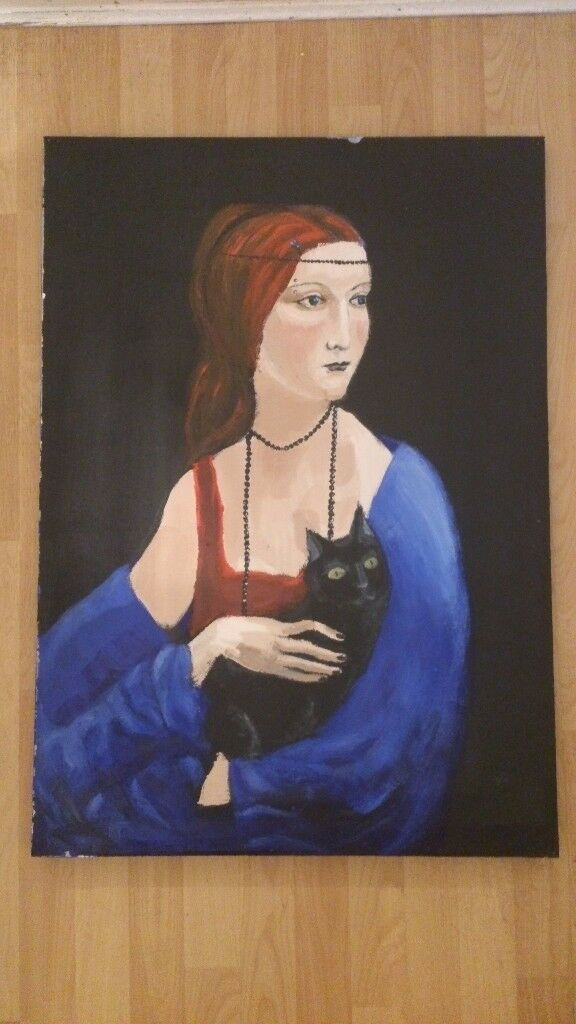 Original painting acrylic on canvass