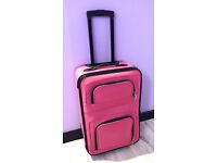 2 x Suitcase Travel Trolley Case Bag on wheels - 2 identical ones