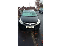 Vauxhall Corsa Automatic Black. Only 2 owners.