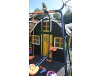 Childrens playhouse 6ft x 6ft just needs a lick of paint