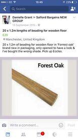 Wooden floor Beading