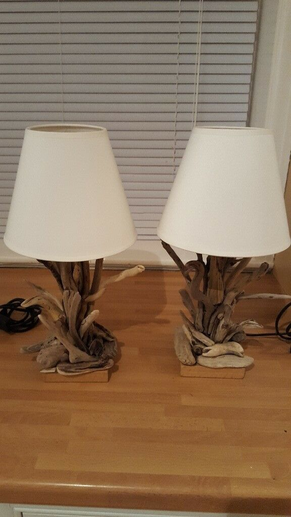 lamps decor lighting p driftwood asp lamp nautical coastal twig