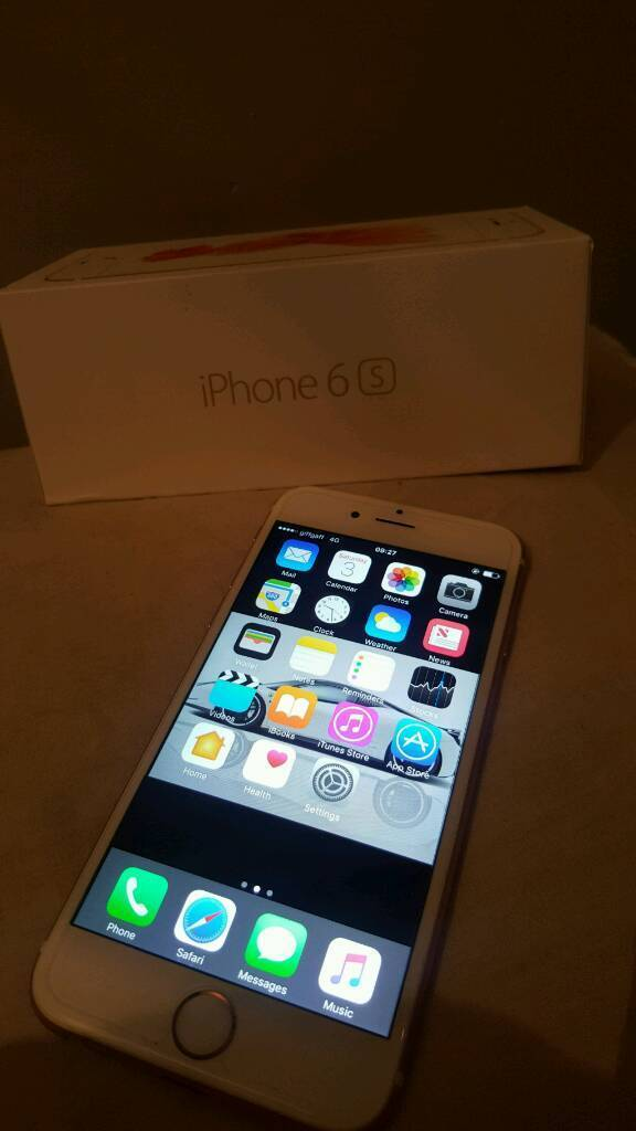 Iphone 6s rose gold unlocked all networksin Birmingham City Centre, West MidlandsGumtree - Iphone 6s rose gold unlocked all networks Hasnt got no major marks on it Comes with boxI aint accepting anything less then 300