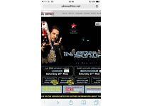 2 tickets for gurdas Mann show Wembley arena