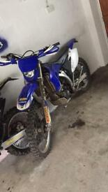 Wr250cc 4 stroke sell or swaps