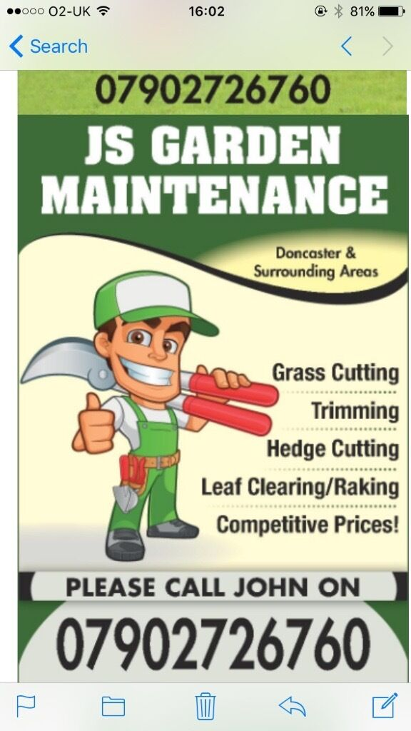 J S Garden Maintenance Service in Conisbrough South Yorkshire