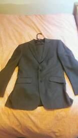 Next 2 Piece Pinstripe Suit. 36S
