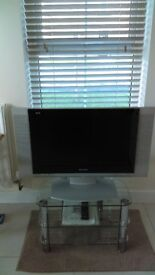Panasonic Viera 27 inch LCD TV with Freeview. Exceptional value and price. TV £70/ TV Table £30.