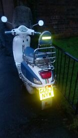 LINTEX MOPED 125cc £350 on 63 plate
