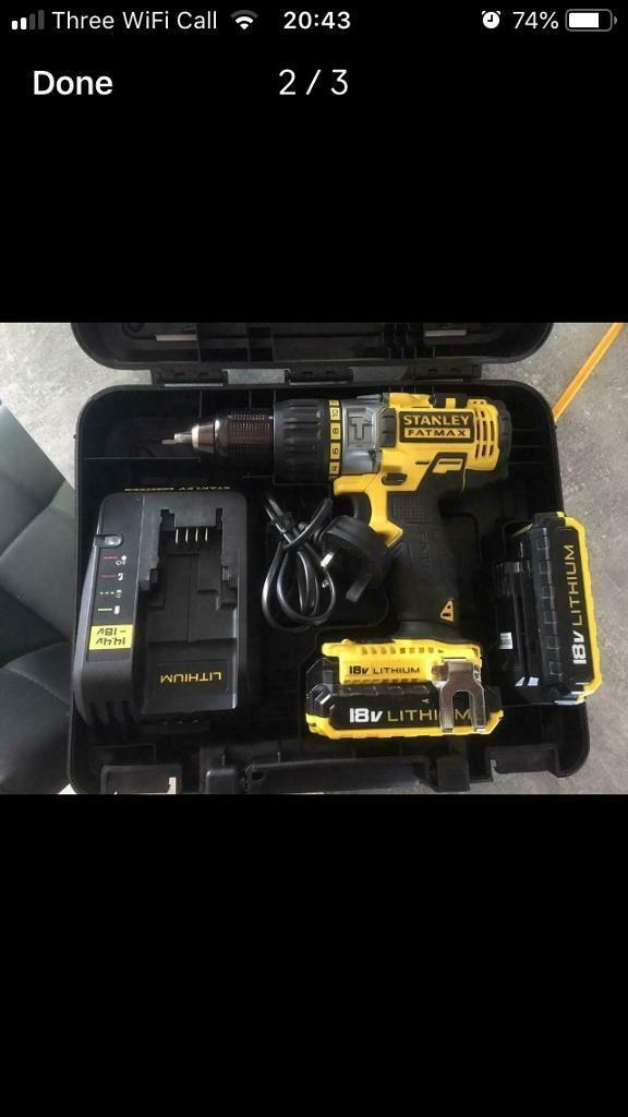 Stanley Fatmax 18v lithium batteries not Dewalt/Makita/Milwaukee | in  Bonnybridge, Falkirk | Gumtree