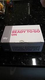 Brand new Sky router