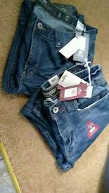 2 brand new pair of crosshatch jeans 36w 36L