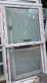 doubled glazed sash window