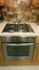 Cooker and oven gas
