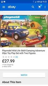 Playmobile wildlife rrp £28 grab a bargain £15