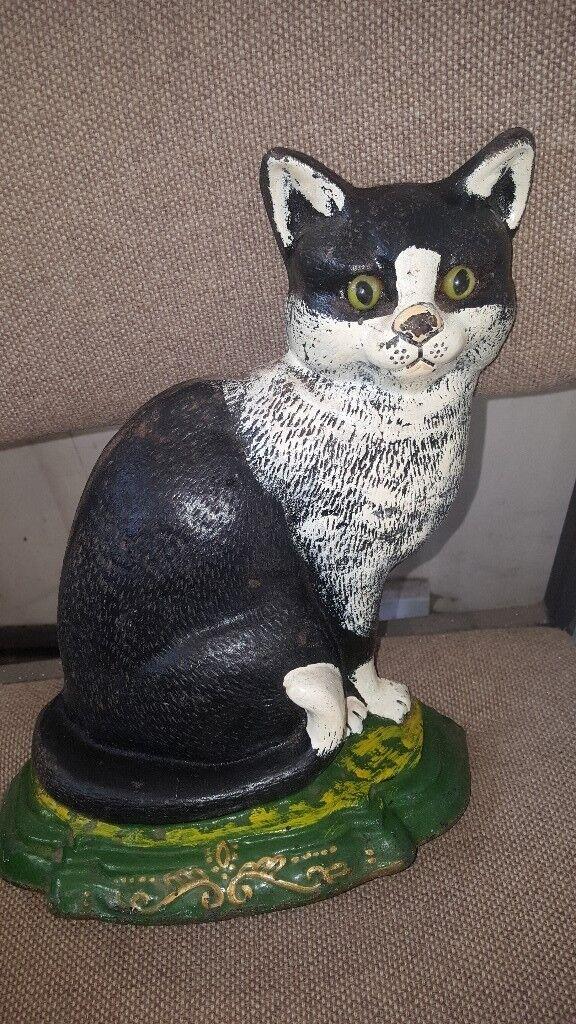Cat fireplace Ornament/Doorstop