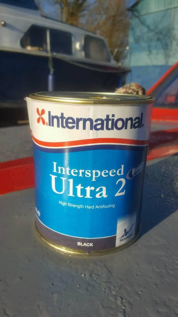 Antifoul - interspeed Ultra 2 - black 3 tins
