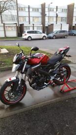 YAMAHA MT 125 MT-125 with extras