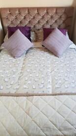 Brand New Bed + Memory Foam Mattress