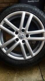 X4 vw touareg altitude alloys