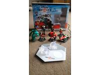 PS3 - Disney Infinity Starter pack + 5 extra characters & 1 extra world