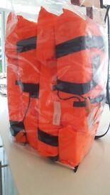 4 lifejackets unused in original packaging