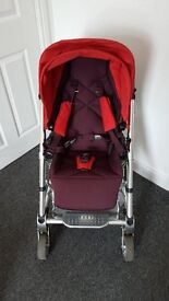 Red Mamas and Papas Urbo2 Pushchair - £100