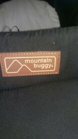 Mountain Buggy Duet V3 Carrycots as new