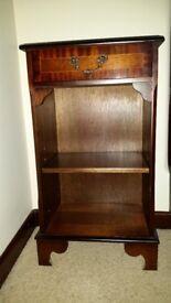 Mahogany Bookcase or Display Unit (Reproduction)