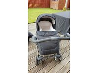 Silver cross travel system with isofix base