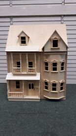 Dolls House BRAND NEW Made in Real Wood Large Range MOTORSAVERS CORBY
