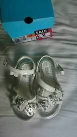 New Girls Sandals size 7