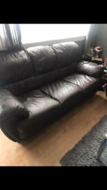 3 seater two arm chairs
