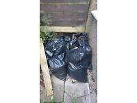 8 or 9 bags compost