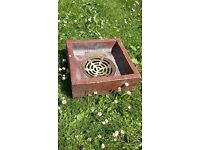 Pot drain gulleys, 5 available, 3 sizes