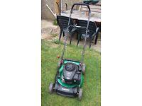 Qualcast petrol mulching mower lawnmower