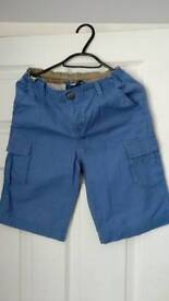 Peter Storm boys cargo shorts size 11-12 excellent condition
