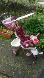 Pink kids trike. £35
