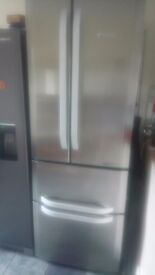 Hotpoint quadrio fridge freezer mint condition 5 months old used for a week only