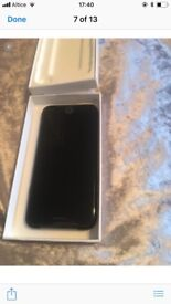 Brand new iPhone 7 black 32gb network open
