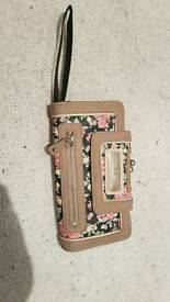 River Island purse with flowers