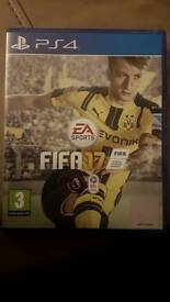 Fifa 17 . For ps4