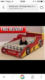 3ft single car bed