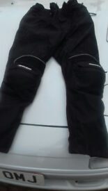 bike trousers - size small - excellent condition