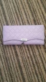 Brand new lilac purse