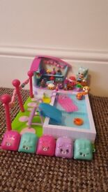 Shopkins Pool Party Set with Lots of Added Extras!!
